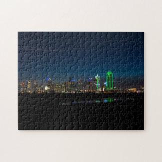 Puzzle Aube Pano d'horizon de Dallas