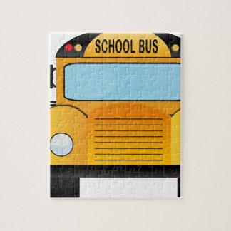 Puzzle autobus scolaire
