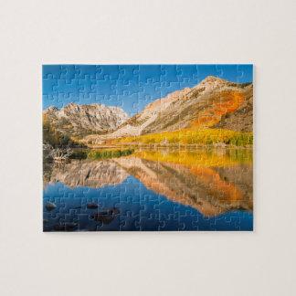 Puzzle Automne au lac du nord, la Californie