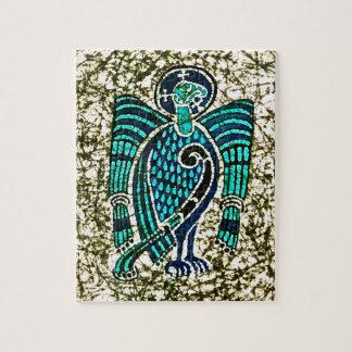 Puzzle avec le livre du batik de Kells