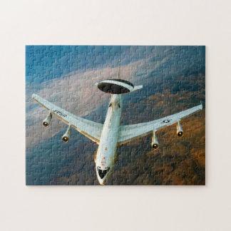Puzzle Avion de patrouille de radar. Le Nevada