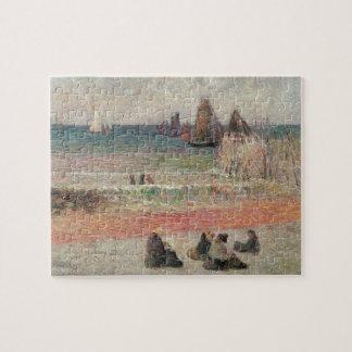 Puzzle Baigner Dieppe par Paul Gauguin, beaux-arts