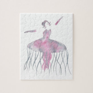 Puzzle Ballerine de méduses - Genevieve