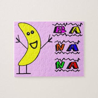Puzzle Banane heureuse