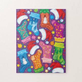 Puzzle Bas de Noël