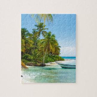 Puzzle Bateau dans les Caraïbe