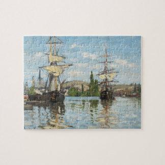 Puzzle Bateaux de Claude Monet | montant sur la Seine à