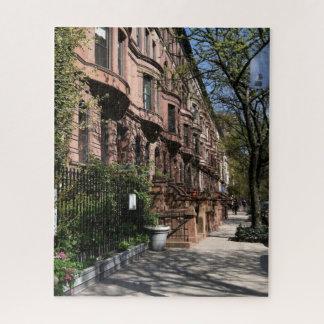 Puzzle Bâtiments supérieurs NYC de côté Ouest de maisons