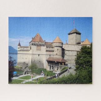 Puzzle Beau château Chillon