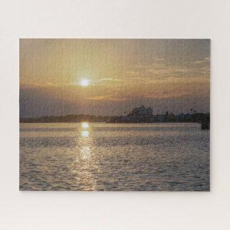 Puzzle Beau lever de soleil à la chaussée de Dunedin