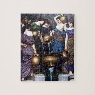 Puzzle Beaux-arts vintages, le Danaides par le château