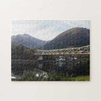 Puzzle Beinn A Bheithir et pont de Ballachulish, Ecosse