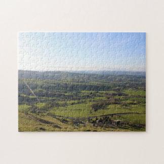 Puzzle Bel horizon de Gallois de paysage de vue de
