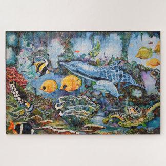 Puzzle Belle scène sous-marine de tortues de mer de