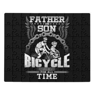 Puzzle Bicyclette de fils de père