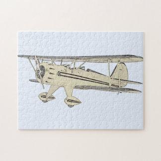 Puzzle Biplan de Waco