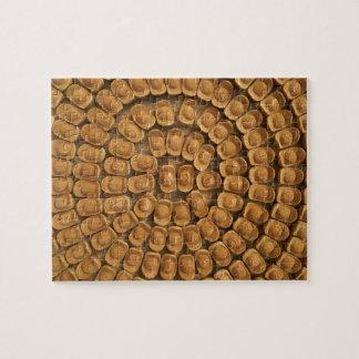Puzzle Biscuits en cercles concentriques denteux