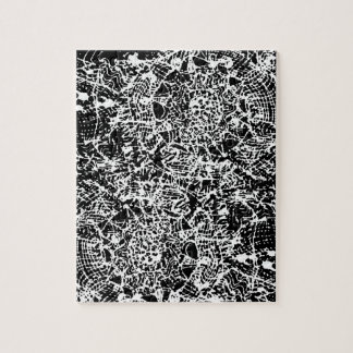 Puzzle blanc de peinture