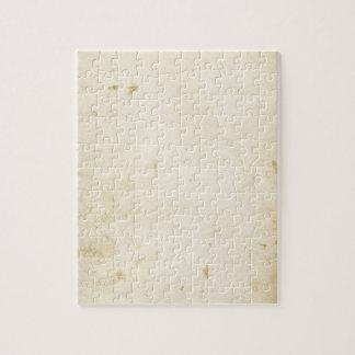 Puzzle Blanc jauni de cru souillé par parchemin antique