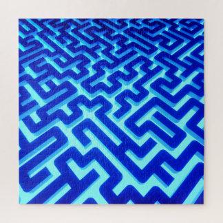 Puzzle Bleu de labyrinthe