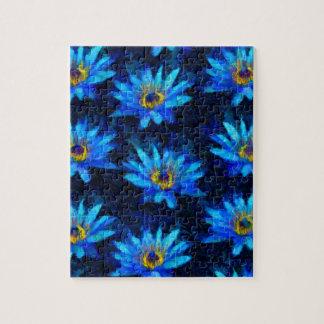 Puzzle bleu de nénuphar de Van Gogh