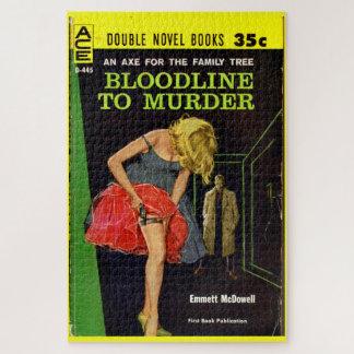 Puzzle Bloodline de milieu des années 50 pour assassiner