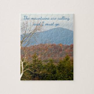 Puzzle Blue Ridge Mountains sont appelant moi doit mettre
