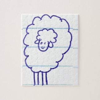 Puzzle Bob les moutons seuls
