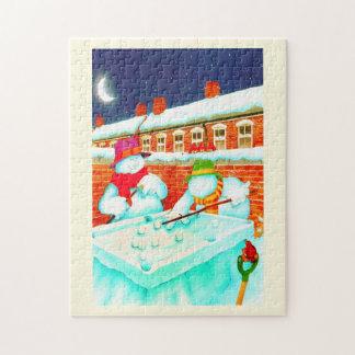 Puzzle Bonhommes de neige
