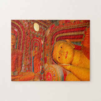 Puzzle Bouddha de sommeil Sri Lanka.