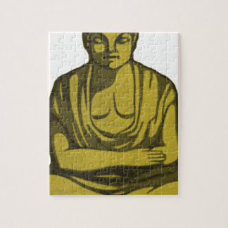 Puzzle Bouddha d'or