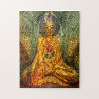 Puzzle Bouddha d'or dans le temple