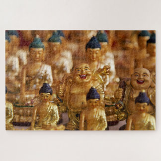 Puzzle Bouddha d'or riant