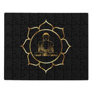Puzzle Bouddha faisant la conception spirituelle de