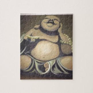 Puzzle Bouddha riant