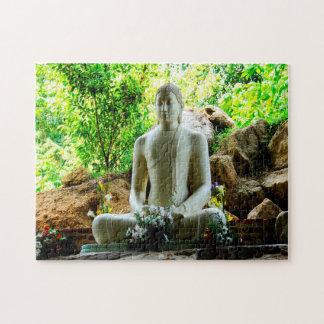 Puzzle Bouddha Sri Lanka.