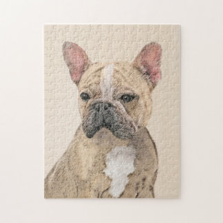 Puzzle Bouledogue français (sable)