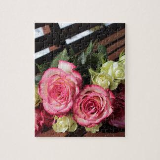 Puzzle Bouquet de bouquet de roses blancs de roses de
