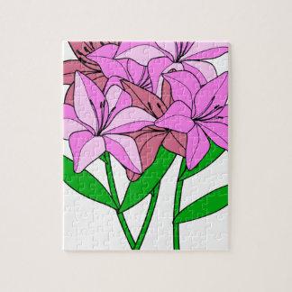 Puzzle Bouquet de lis