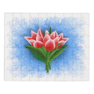 Puzzle Bouquet de tulipe