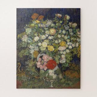 Puzzle Bouquet des fleurs dans un vase