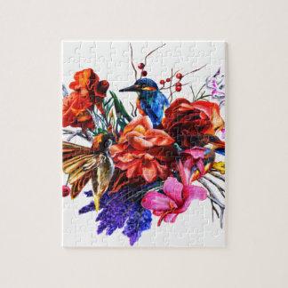 Puzzle Bouquet d'oiseau
