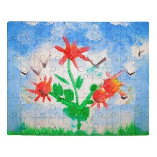Puzzle Bouquet lumineux