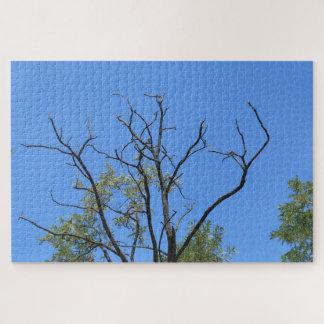 Puzzle Branche sèche et le ciel bleu