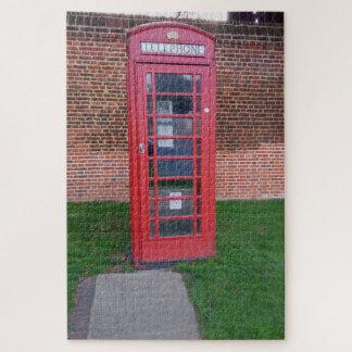 Puzzle Cabine téléphonique rouge à Londres