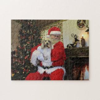 Puzzle Caoutchouteux et Père Noël