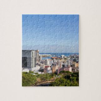 Puzzle Capitale d'horizon de Port-Louis des Îles Maurice