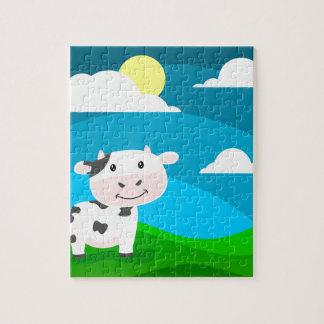 Puzzle Caractère de vache