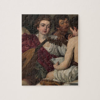 Puzzle Caravaggio - les musiciens - illustration