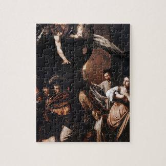 Puzzle Caravaggio - les sept travaux de la peinture de